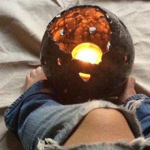 sfera in ceramica Bolla Nera