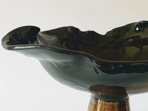 alzatina in ceramica fatta a mano Nuvola