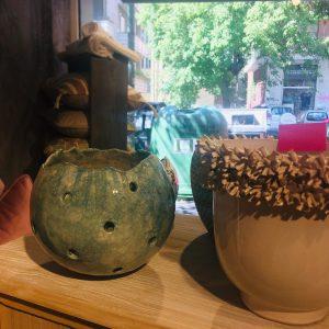 sfera di ceramica Bolle