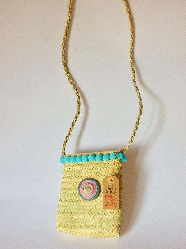 borsa di paglia Mini Miss