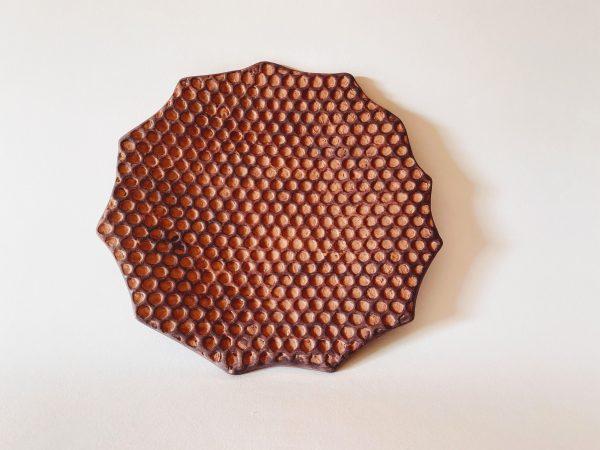 piatto in ceramica Alveare di Bosco