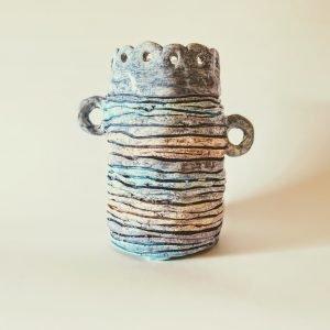 vaso fatto a mano Caramello