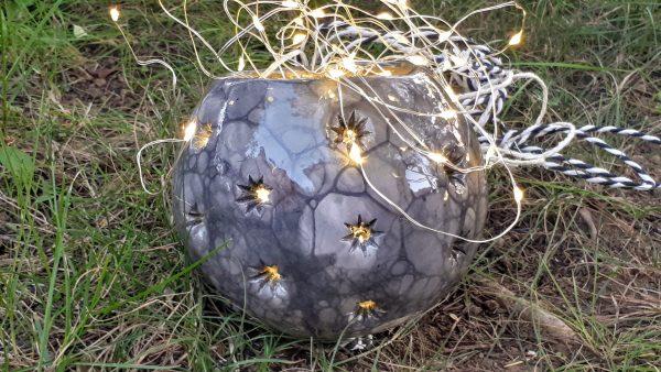 "sfera in ceramica ""Nera Mora"""